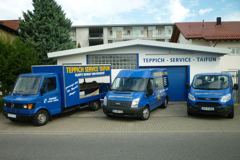 Fahrzeuge - Teppichservice Taifun - Konstanz