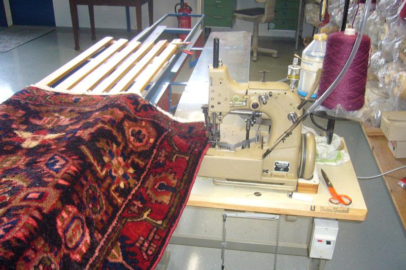 Teppich ketteln - Teppichservice Reparatur - Konstanz